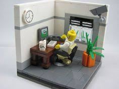 Lego Office Lego Computer Google Search Lego Interiors Pinterest