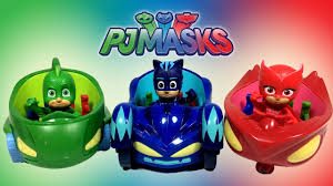 pj masks vehicles catboy u0027s cat car gekko u0027s gekko mobile owlette u0027s