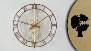 magica wooden clock holzuhr youtube