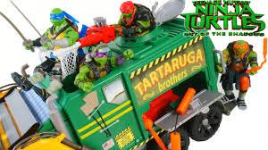tactical truck teenage mutant ninja turtles 2 tactical truck duel shredder foot