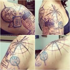 les plus beaux tatouages homme ces magnifiques tatouages nous parlent de voyages l u0027aventure