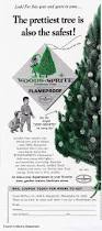 vintage holiday ad wood sprite flameproof christmas trees 1967