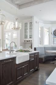 white kitchen cabinets with colored island painted white kitchen with wood island cabinets
