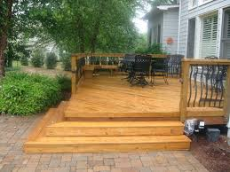 Patio Table Wood Patio Ideas Wood Patio Steps Pictures Round Wood Patio Table