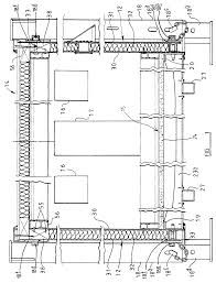 patent ep0693601b1 wall panel structure for portable building
