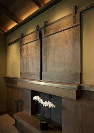 barn door tv wall cabinet all remodelista home inspiration stories in one place barn doors