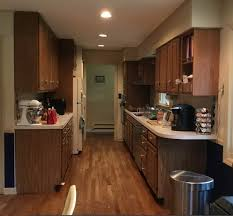 how much is a galley kitchen remodel galley kitchen remodel monk s home improvements
