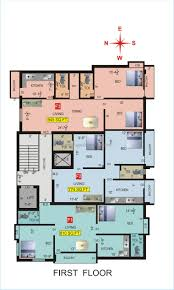 toronto general hospital floor plan vgk sri sai gurusthan in chrompet chennai by vgk builders