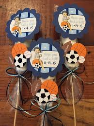 sports themed baby shower decorations sports baby shower decorations and party favors baby shower