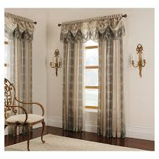 3 Inch Rod Pocket Sheer Curtains Shop Allen Roth Cheshire 84 In Mist Polyester Rod Pocket Sheer