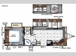 rockwood floor plans new 2018 forest river rv rockwood ultra lite 2608ws travel trailer