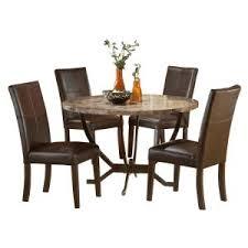 hillsdale furniture monaco 5 piece matte espresso dining set