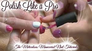 polish your nails perfectly at home you polish nails and paint a