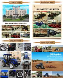 kw tractor qln954 powerful tractor 95hp 69 9kw 4 wheel drive turbo charging