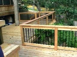 Ideas For Deck Handrail Designs Deck Railing Ideas Pterodactyl Me