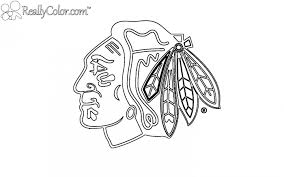 stunning chicago blackhawks coloring pages pictures printable