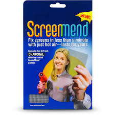 Mobile Window Screen Repair Screenmend Window Screen Repair Patch Walmart Com