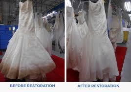 wedding dress restoration wedding dress restoration affordable preservation company