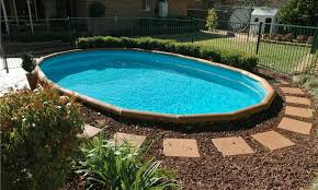 Landscaping Around A Pool by Above Ground Swimming Pool Landscaping Ideas Pictures U2013 Noaly