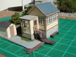 signal shed hintock construction part four model railroad kit bashing