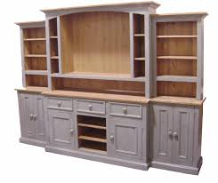 Wall Unit Coastal Grey This Beautiful Solid Wood Country French Media Wall
