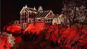 home christmas lights christmas lights house