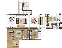luxury apartment plans apartment floor plan thraam com