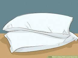 4 ways to sleep with lower back pain wikihow
