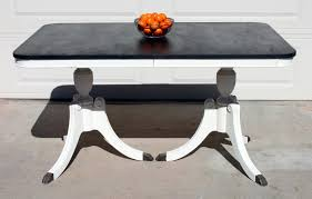 painted duncan phyfe dining table
