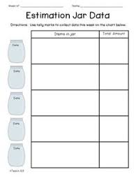 estimation jar worksheet from first grade schoolhouse free