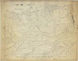 Ithaca Map Historic Maps Cayuga Heights History Project