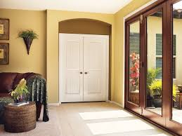 Interior Doors With Glass Panel Panel Louver And Flush Doors Interior Doors And Closets