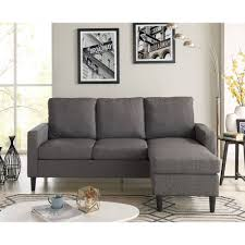 apartment sofas and loveseats living room furniture mainstays apartment reversible sectional