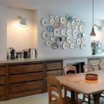 kitchen wall decorating ideas kitchen wall decor ideas gallery wall but change put shelf in middle