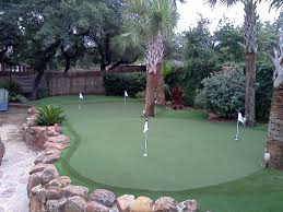 backyard golf course ideas home outdoor decoration