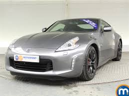 nissan 370z miles per gallon used or nearly new nissan 370z 3 7 v6 328 3dr grey for sale in