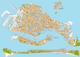 Venice Map Infovenice ι Music In Venice