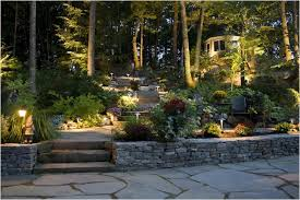Outside Landscape Lighting - backyards awesome outdoor landscape lighting in monmouth county
