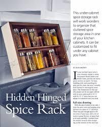 diy spice rack u2022 woodarchivist