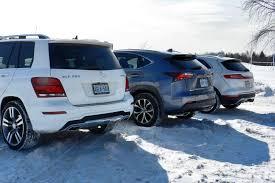 lexus nx vs mercedes gle 2015 compact luxury suv comparison autos ca