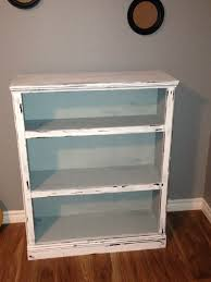 a bookcase i made into a distressed vintage look using americana
