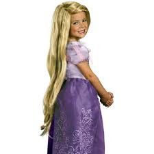 toddler halloween wigs amazon com tangled rapunzel wig toys u0026 games