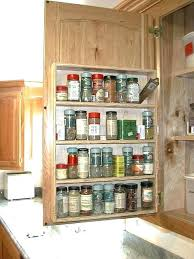 kitchen cabinet spice racks pull out spice racks for kitchen cabinets faced