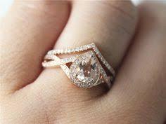 morganite wedding set gold morganite ring morganite engagement ring and wedding
