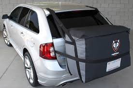 nissan rogue hatch tent rightline gear car saddlebag rightline gear suv cargo carrier
