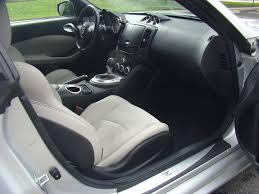 nissan 370z leather seats 2009 nissan 370z black coupe