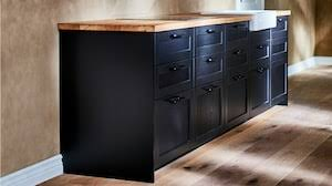 height of ikea base cabinets with legs shop kitchen cabinets modern affordable styles ikea