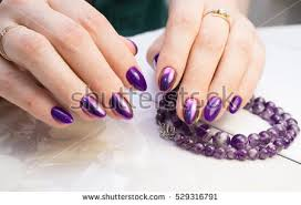 natural nails amazing clean manicure gel stock photo 618240107