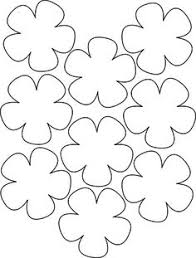 12 free printable templates flower template template and templates