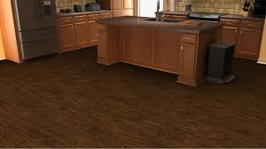 kitchen flooring in a add the bevelloc walnut effect to your room